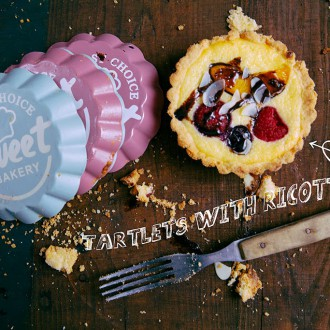 TARTLETS WITH RICOTTA