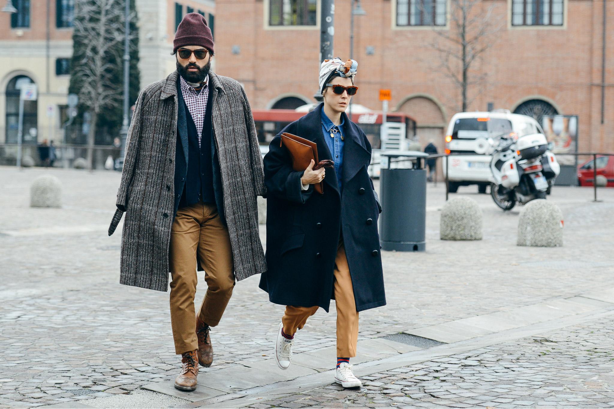 Pitti uomo unleashes the blogger race on italian style