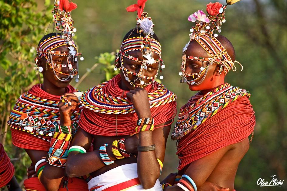 Африк племена одежда