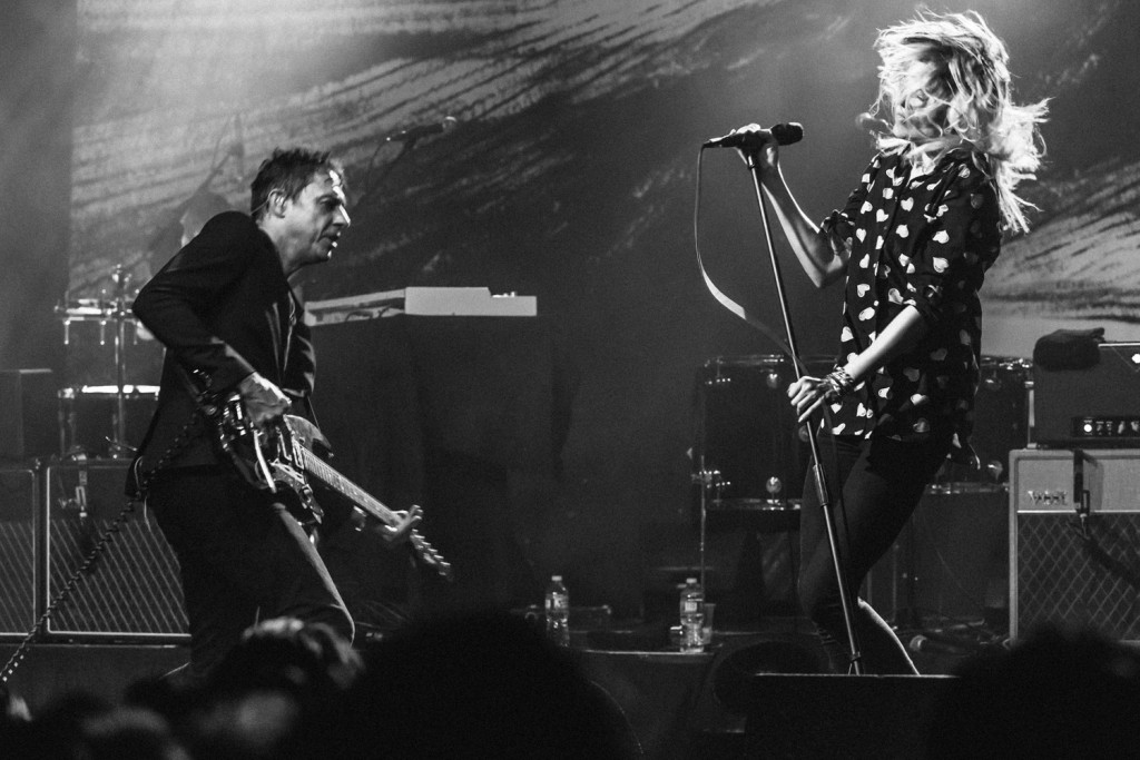 The Kills perform at the El Rey Theater, in West Hollywood, CA, USA on 27 July, 2015.
